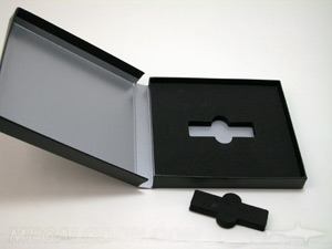 usb box set foam well cut out
