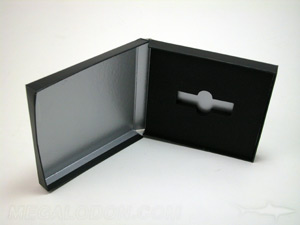 usb box packaging foam panel well cut for drive shape