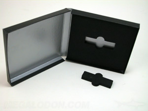 deluxe usb box packaging printed metallic ink foam well panel