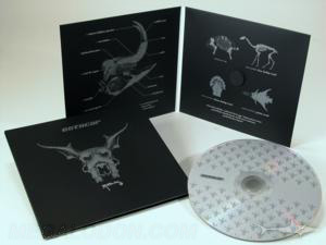 metallic ink special printing effects printed packaging cd dvd disc