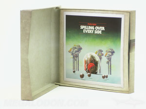 cd box set inner jackets rigid chipboard stock