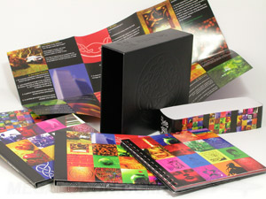 vinyl box set debossed digipak multidisc volume set