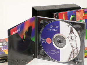 cd box set leather digipak box set
