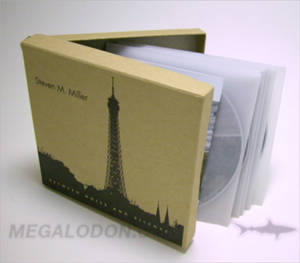 cd deluxe box set chipboard stock vellum sleeves 5 disc set