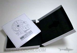 usb box packaging foam well perfect bound book