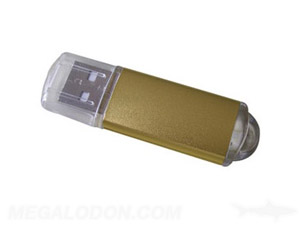 gold metal usb drive manufacturing