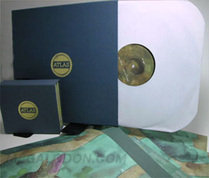 vinyl cd set linen wrapped
