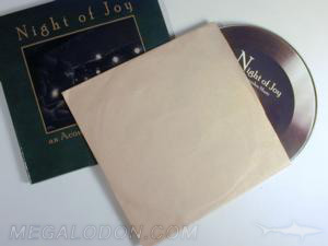 grooved cd disc vintage record look