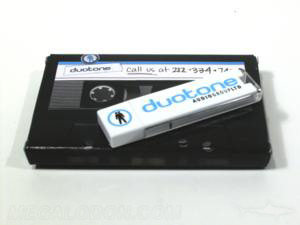 usb box made to look like cassette retro style