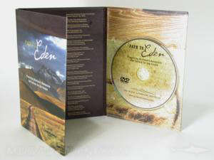 dvd digipak matte uncoated paper 6pp tall tray packaging