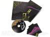 slipcase set tall gold foiling spot gloss embossed debossed disc digipak and stationary cards